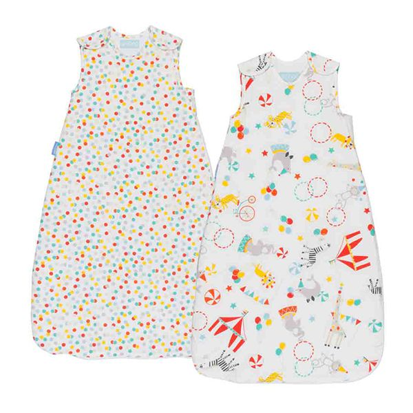 The Gro Company Grobag Baby Sleep Bags Twin Pack (0-6months) Image