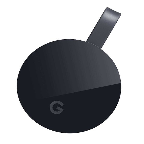 Google CHROMECAST Ultra Media Streaming Device Image