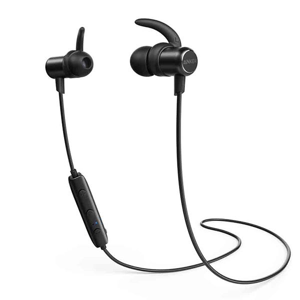 Anker SoundBuds SLIM Bluetooth In-Ear Headphones Image
