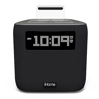 iHome IPL-24 Dual Alarm Clock Radio with Lightning Connector