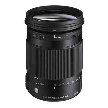 Sigma DC Macro OS HSM 18-300mm f/3.5-6.3 Contemporary Lens