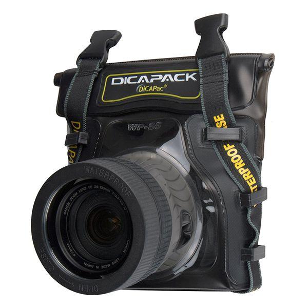 DiCAPac Waterproof Case for Mid Range DSLR Cameras Image