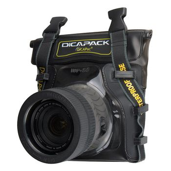 DiCAPac Waterproof Case for Mid Range DSLR Cameras