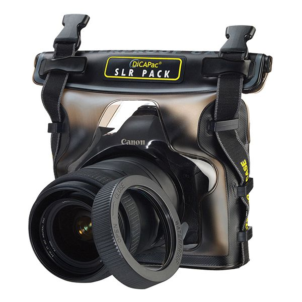DiCAPac Waterproof Case for DSLR Cameras Image