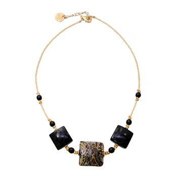 Murano Glass CALCEDONIO Necklace