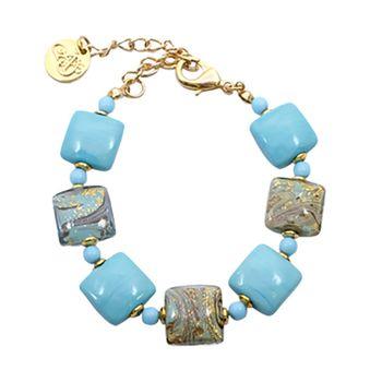 Murano Glass CALCEDONIO Bracelet