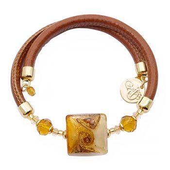 Murano Glass SPIRAL Bracelet