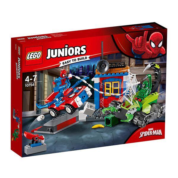Lego JUNIORS Spider Man vs Scorpion Street Showdown Image