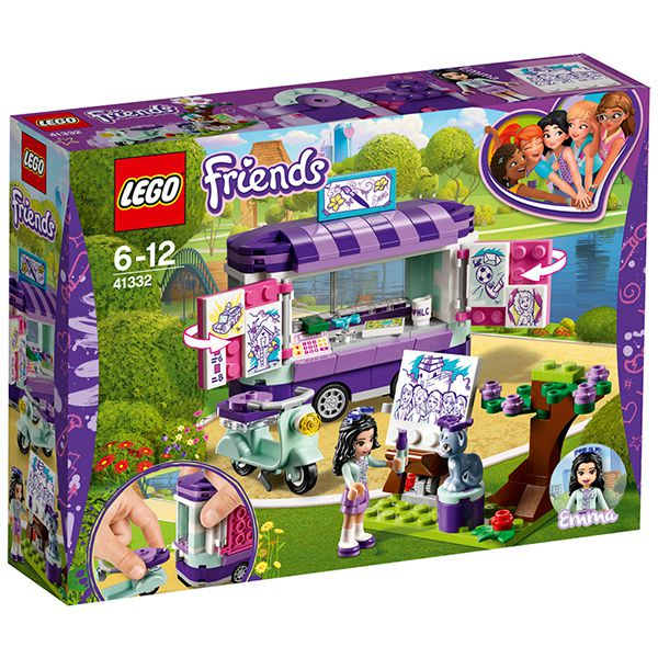 Lego DISNEY Friends Emma's Art Stand Image