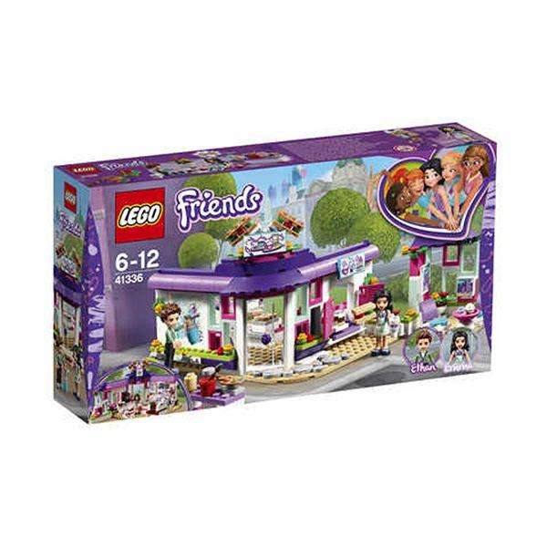 Lego FRIENDS Emma's Art Café Image