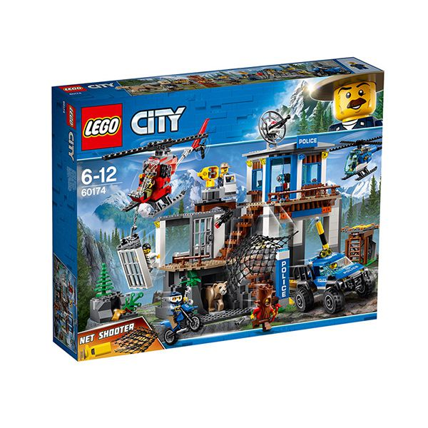 Lego CITY Mountain Police Headquarters Image