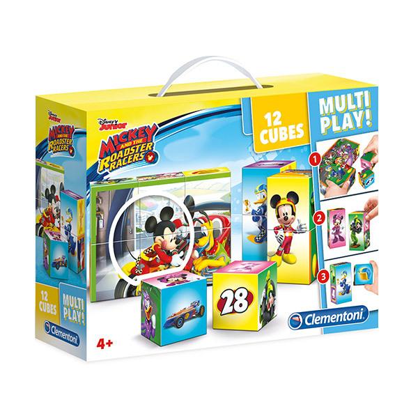 Clementoni Multi Play Cubes Puzzle Image