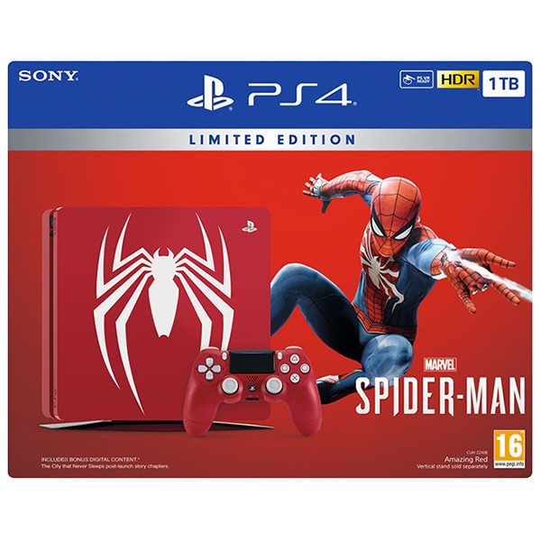 PlayStation Limited Edition Bundle: PS4 1TB + Spider-Man Image