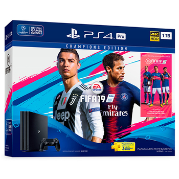 PlayStation Champions Edition Bundle: PS4 Pro 1TB + FIFA 19