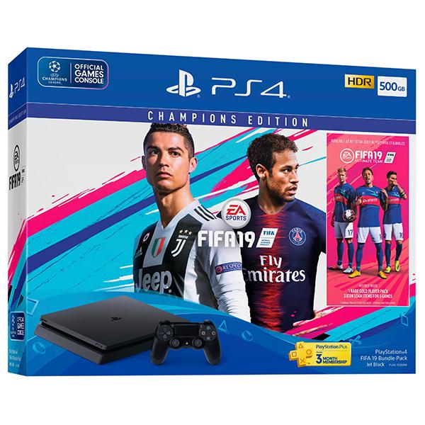 PlayStation Champions Edition Bundle: PS4 500GB + FIFA 19 Image