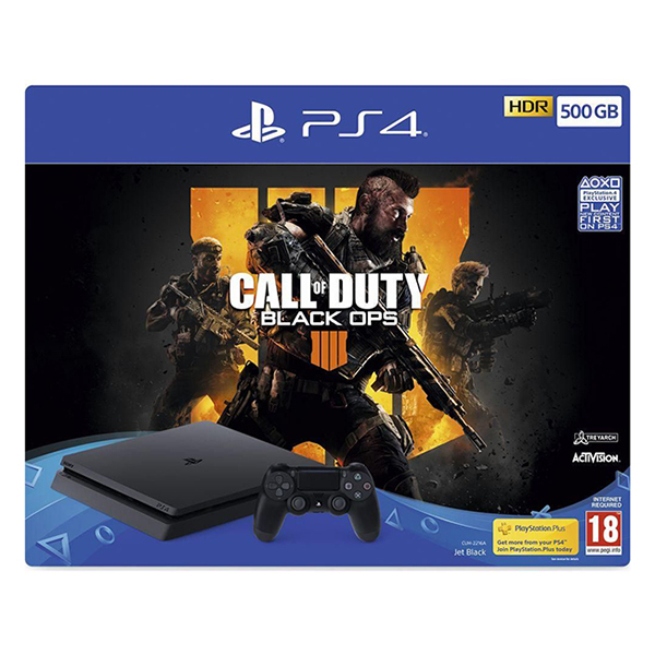 PlayStation Bundle: PS4 500GB + Call of Duty: Black Ops IV Image