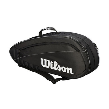 Wilson FED Team 6-Pack Tennis Bag - 2018