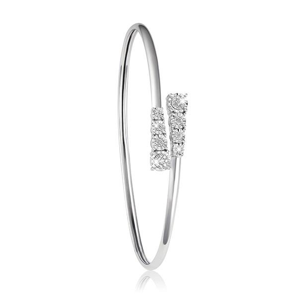 Liali QUATTRO 18K Charming Diamond Bangle Image