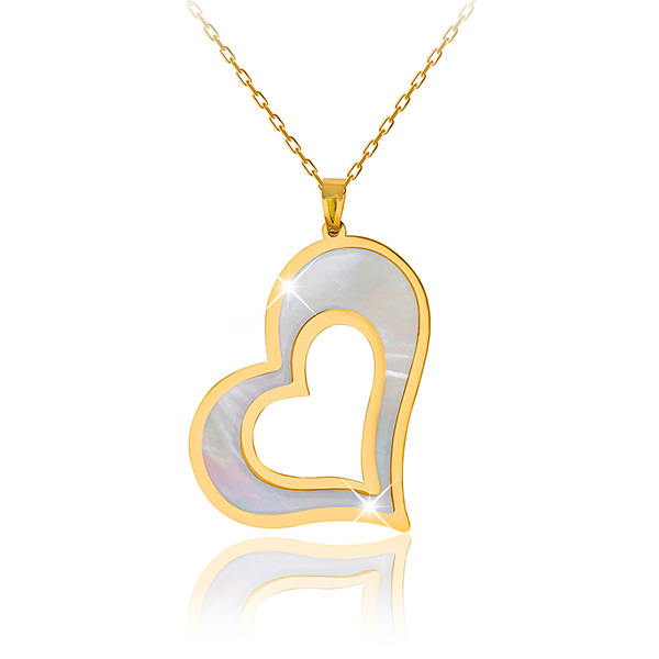 Liali FLURTING HEART 18K Pendant Necklace Image