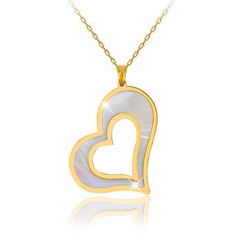 Liali FLURTING HEART 18K Pendant Necklace