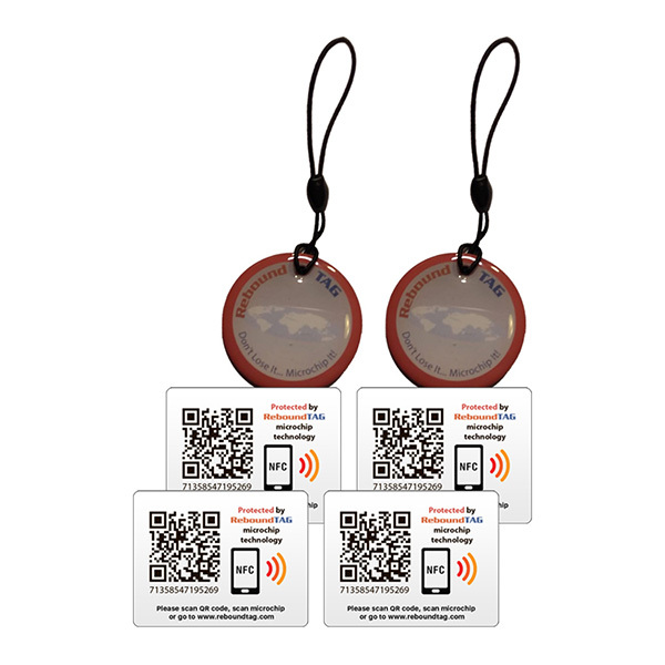 ReboundTAG Protector Key Ring & Adhesive TAGs Multi-Pack Image