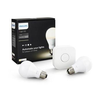Philips E27 Hue White Wireless LED Starter Kit