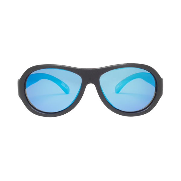 Babiators BLACK OPS BLACK Polarized Aviator Junior Sunglasses Image