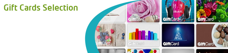 Gift Cards Selection
